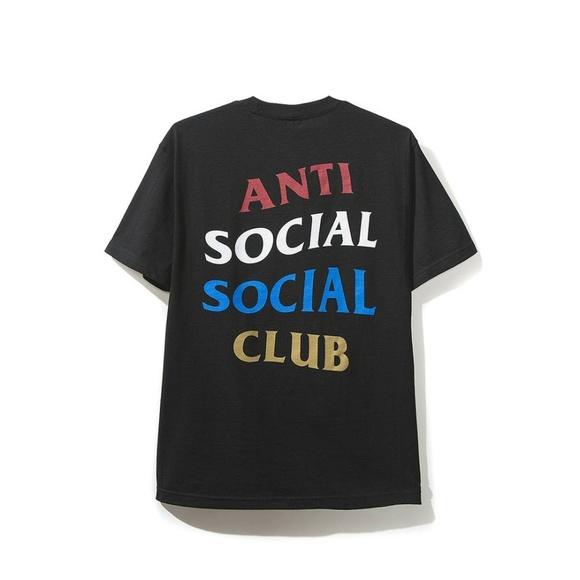cf399d84 Anti Social Social Club Shirts | Copy Me Black Tee | Poshmark